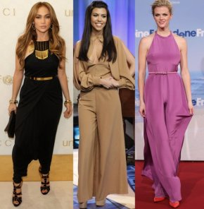 Celebrities rocking the jumpsuit trend
