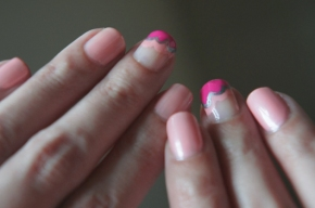 pink cloud nails