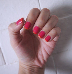 NOTD - strawberry daiquiri