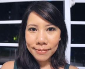 Face of The Day - Tenacious Teal + Audacious Asphalt (Maybelline Color Tattoo Cream Gel eyeshadow)