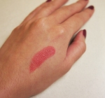 Swatch - Skintelligent Beauty Glitz Lipstick in Drama Queen from VMV Hypoallergenics