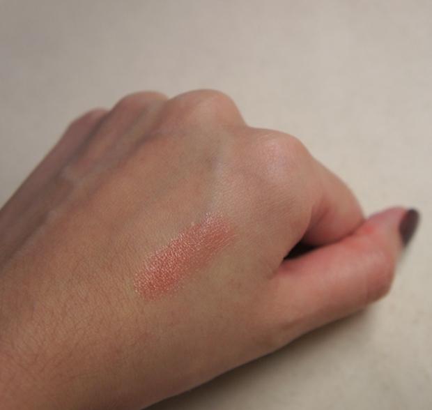 Swatch - Shiseido Maquillage Lipstick BE315