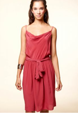 Red Geren Ford Score Dress from Zalora