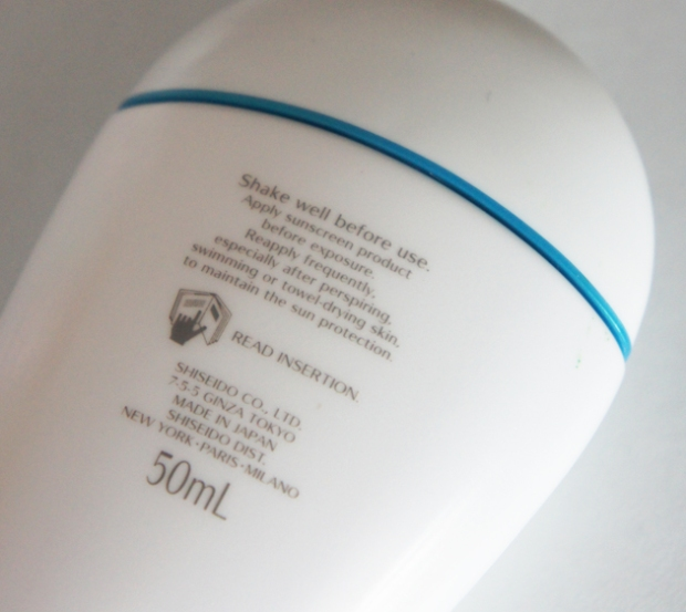Shiseido Perfect UV Protector SPF 50 PA+++