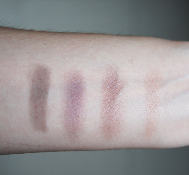 Swatch - Burberry Complete Eye Palette in Plum Pink