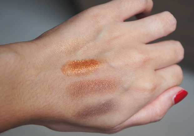 Swatches - Tom Ford Eye Color Quad No. 02 Cognac Sable