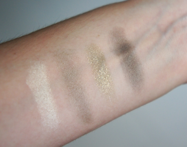 Swatches - Tom Ford Eye Color Quad No.08 Sahara Haze