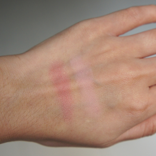 Swatch - Illasmaqua Duo Blush Katie & Ambition