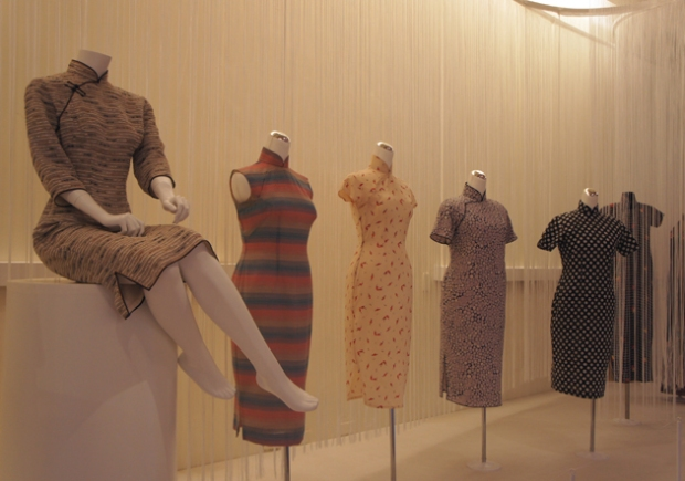 Qipao exhibit at the National Taiwan Museum