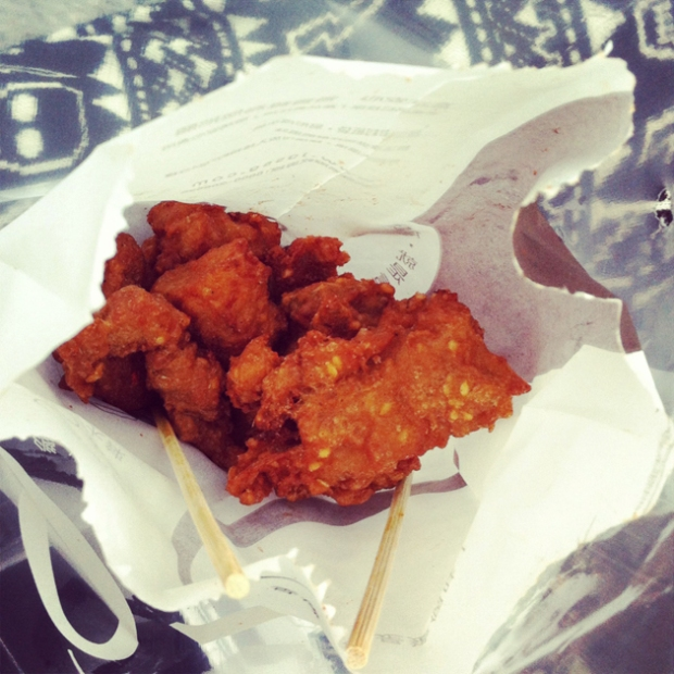 Food in Taipei - Fried Chicken
