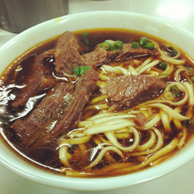 Food in Taipei - Beef Noodles