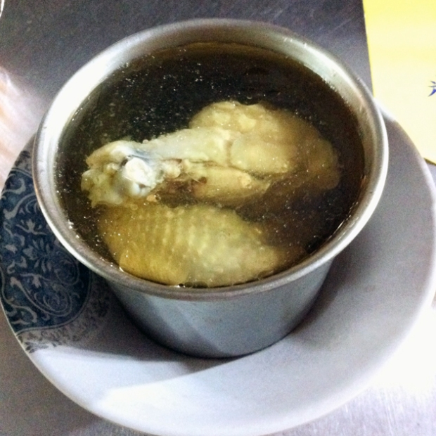 Food in Taipei - Ginseng Chicken Soup