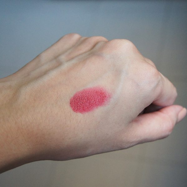 Swatch - Tom Ford Lip Color in Reckless (indoor shot)